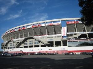 El Estadio Monumental Antonio Vespucio Liberti